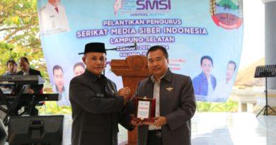 Hadiranya SMSI Disambut Baik Oleh Plt Bupati Lampung Selatan