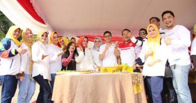 Gubernur Lampung  Dan Forkompimda Adakan Senam Bersama ASN