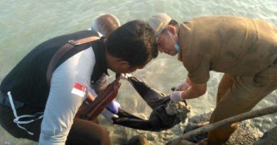 Potongan Tubuh Manusia Mengapung Di Pancer Kuala Penet
