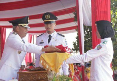 Bupati Pringsewu Jadi Inspektur Upacara Hut RI Ke-74